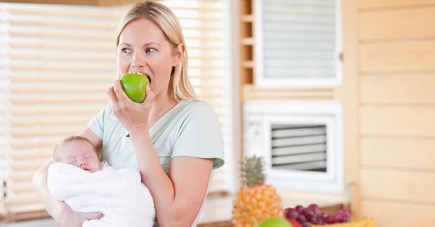 Полезни храни за кърмещи майки