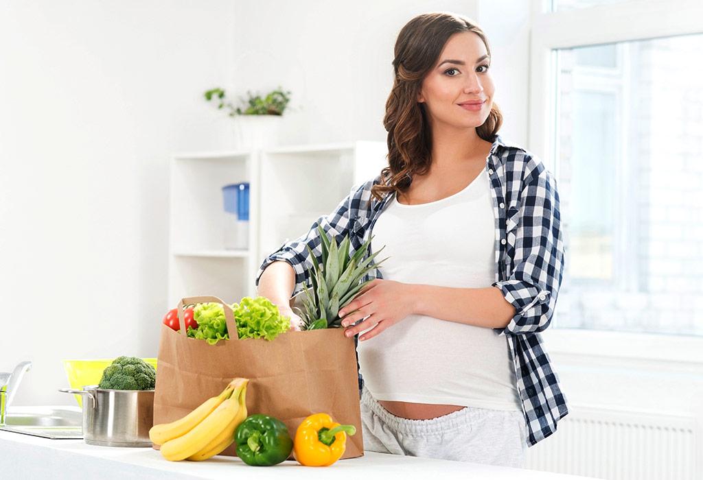 Храненето по време на бременност – предпоставка за здраво бебе