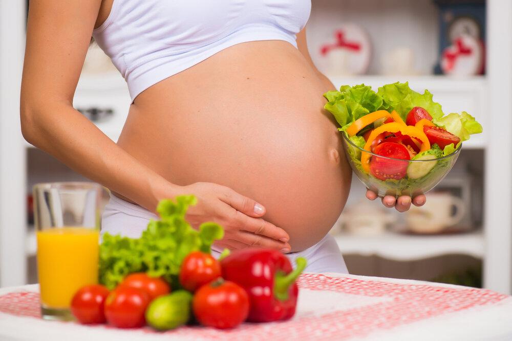Хранене и индекс на телесната маса по време на бременността