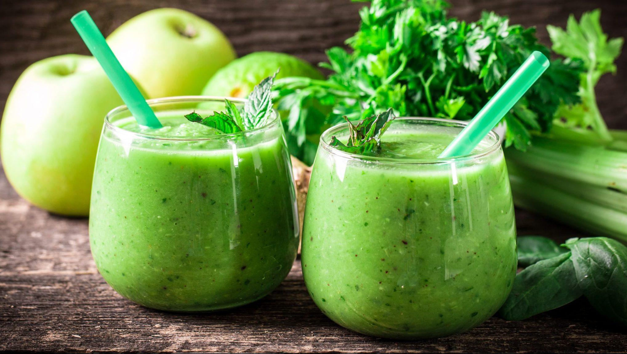 Детокс зелен сок